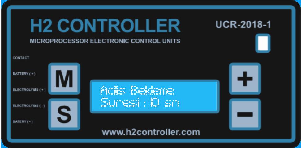 Sistem başlatma zaman ayarı / System start time setting