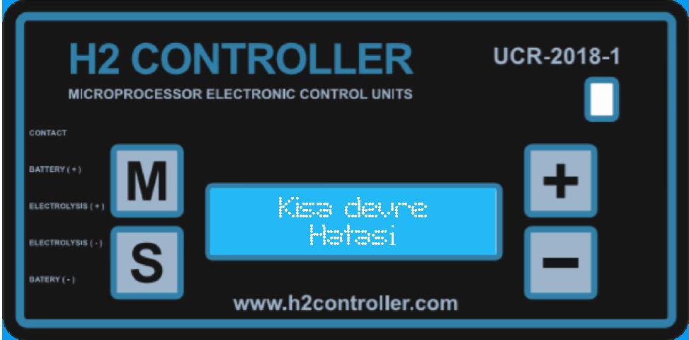 Kısa devre uyarısı / Short circuit warning